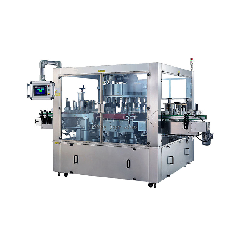 Rotary Self-adhesive Labeling Machine