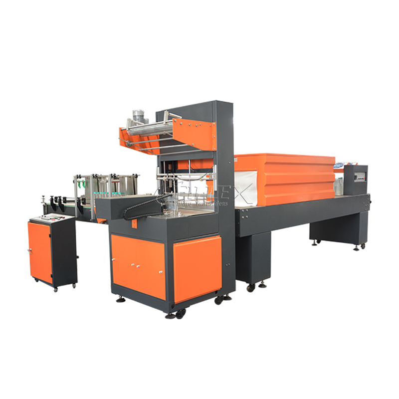 Automatic PE Film Wrapping Shrinking Machine