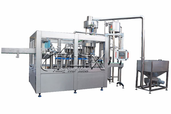 PET bottled juice filling machine