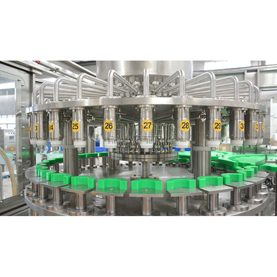 Full Automatic Orange Juice Rinser Filler Capper Production Line