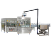 Automatic soda PET bottle filling production line