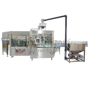Automatic Monoblc Soda Drink Filler Machine production equipment