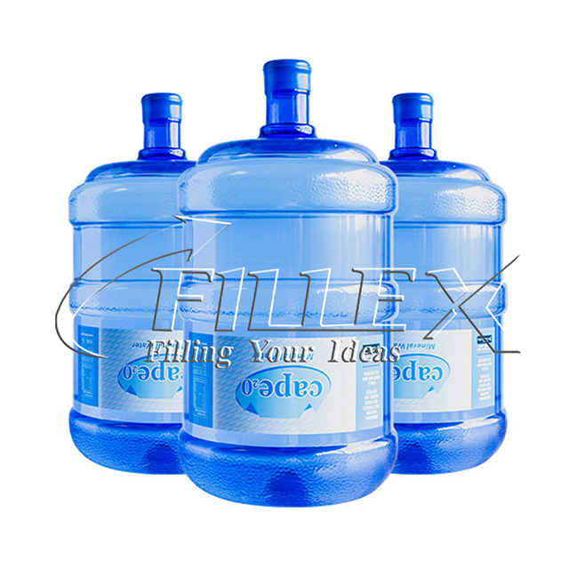 450BPH Water Barrel Filling Equipment for PC / PET 5 Gallon Bottle