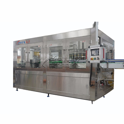 Monobloc Apple Juice Rinsing Filling Capping Machine