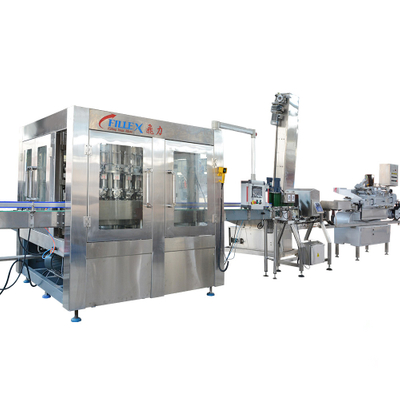 High Capacity Syrup Filling Production Line