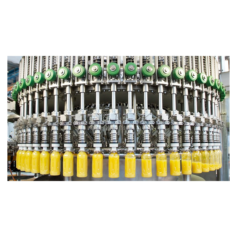 Fully Automatic Plastic Bottle Hot Filling Machine Production Line