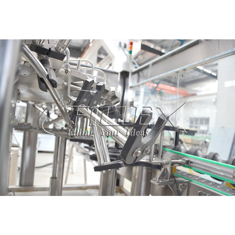 Automatic soda glass bottle filler capper equipment