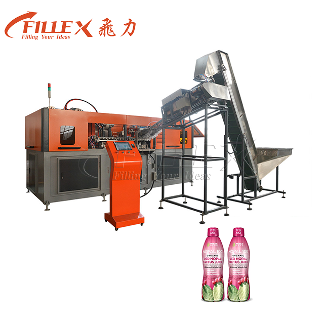 0.3-2L 2000BPH 4 Cavity Hot Fill Bottle Making Machine