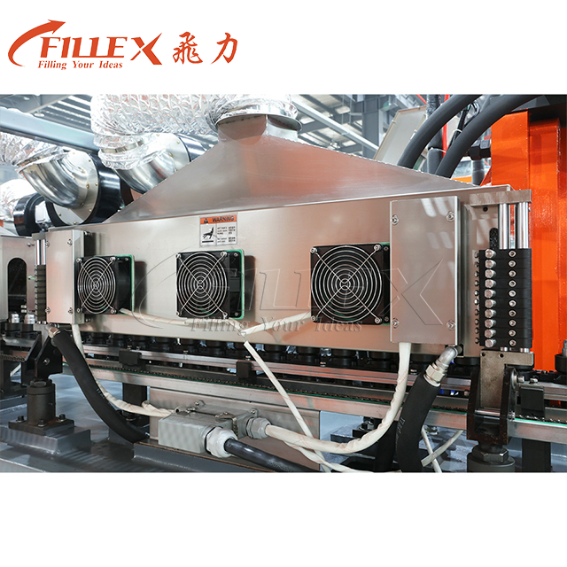Full Electric 8 Cavity 16000bph Rotary Heating PET Bottle Water Bottle Stretch Blow Moulding Machine