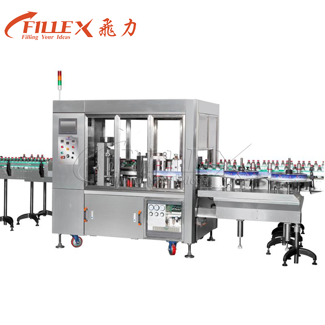 Automatic Linear Type 18000bph Hot Glue Labeling Machine