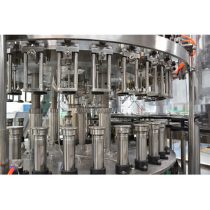 Automatic Glass Bottle Cabonated Beverage Machinery Company