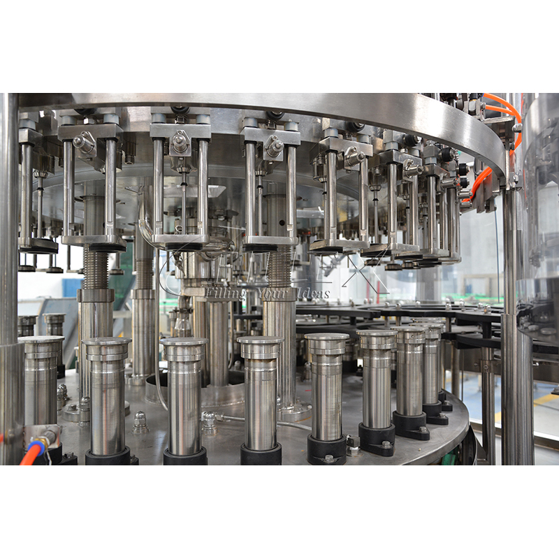Fully Automatic glass bottle flavoured drink filling machine